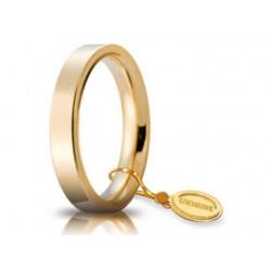 Fede 1AR Cerchio di Luce 3,5 mm Oro Giallo