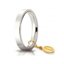Fede 1AR Cerchio di Luce 3,5 mm Oro Bianco.
