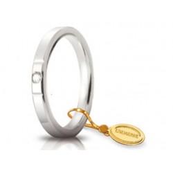 Fede 1AR Cerchi di Luce 2,5 mm Oro Bianco